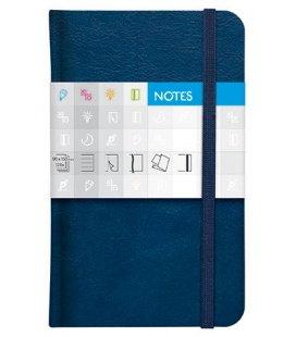 Notes kapesní Saturn linkovaný modrý 2018
