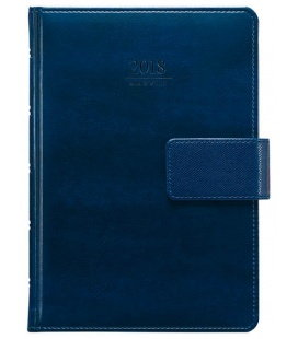 Daily Diary A5 Atlas with fastener SK 2018
