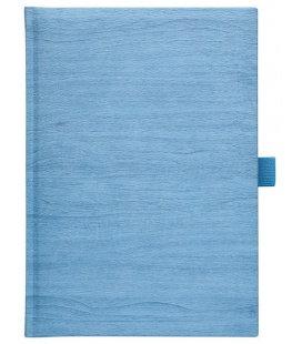 Notes A5 Wood modrý linkovaný 2018, objednávka od 100 ks