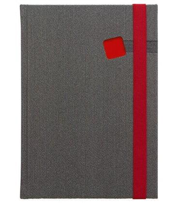 Notes A5 Mambo červený čtverečkovaný 2018, objednávka od 100 ks