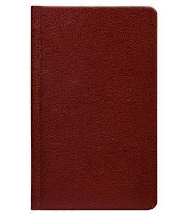 Notes kapesní Carus hnědý linkovaný 2018, objednávka od 1 ks