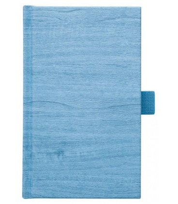 Notes kapesní Wood modrý čtverečkovaný 2018, objednávka od 100 ks