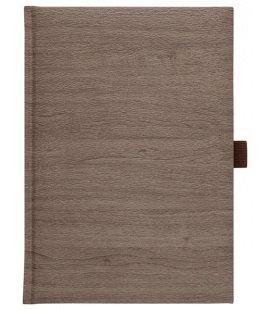 Notes A4 Wood hnědý linkovaný 2018, objednávka od 100 ks