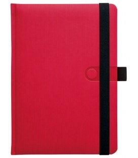 Notizbuch A4 kariertes Notes A4 Trendy červený čtverečkovaný 2018 , Bestellungen von 100+ Stück