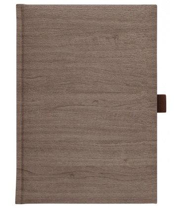 Notes A4 Wood hnědý čtverečkovaný 2018, objednávka od 100 ks