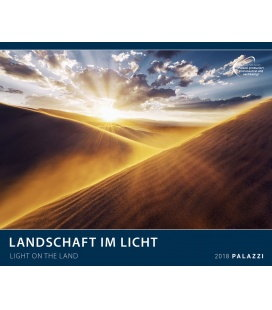 Wall calendar LANDSCHAFT IM LICHT by Stefan Hefele 2018