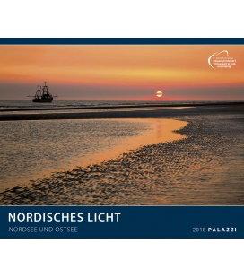 Nástěnný kalendář Severské světlo, Severní a Baltské moře 2018 / NORDISCHES LICHT I NORDSE