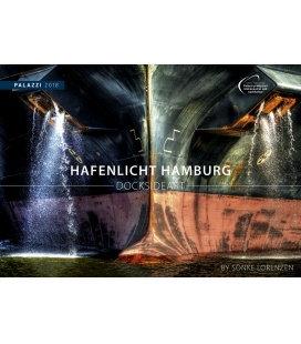 Nástěnný kalendář Zákoutí přístavu 2018 / HAFENLICHT HAMBURG I DOCKSIDE ART 2018