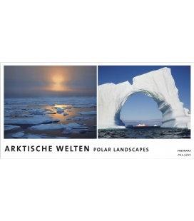 Nástěnný kalendář Polární krajiny - věčný kalendář - PANORAMA / ARKTISCHE WELTEN I Polar P