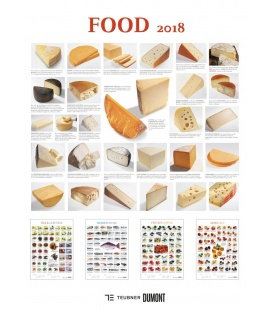 Nástěnný kalendář Jídlo / Food 2018