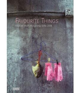 Nástěnný kalendář Oblíbené věci / M. Wolf: Favourite Things - Hongkong Stills 2018