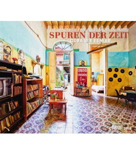 Nástěnný kalendář Stopy času / Spuren der Zeit 2018