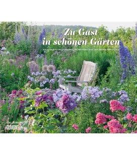 Nástěnný kalendář Host v krásných zahradách / Zu Gast in schönen Gärten 2018