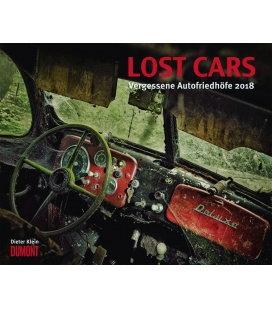 Nástěnný kalendář Ztracená auta / Lost Cars 2018