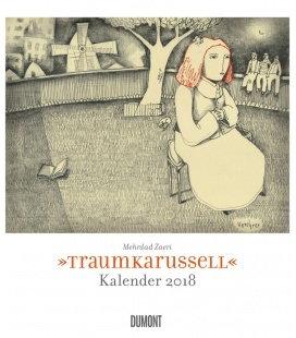 Nástěnný kalendář Kolotoč snů / Traumkarussell 2018
