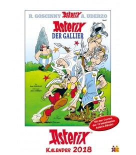 Nástěnný kalendář Asterix - obálky komiksů / Asterix Comiccover-Kalender 2018
