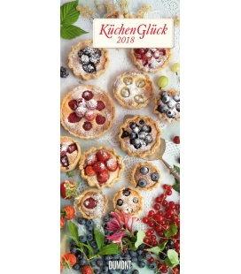 Nástěnný kalendář Radost v kuchyni / KüchenGlück LS 2018