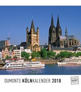 Nástěnný kalendář Kolín N/R / Köln 2018