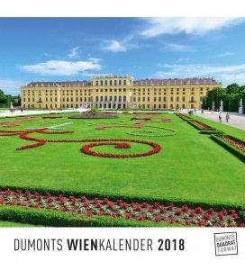 Nástěnný kalendář Vídeň / Wien 2018