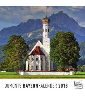 Nástěnný kalendář Bavorsko / Bayern 2018