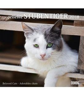 Nástěnný kalendář Kočky / … geliebte Stubentiger 2018