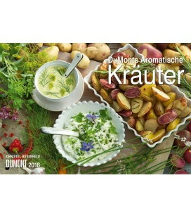 Nástěnný kalendář Aromatické bylinky / DuMonts Aromatische Kräuter 2018