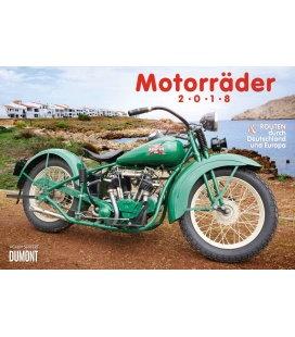 Nástěnný kalendář Motocykly & Trasy / Motorräder & Routen 2018