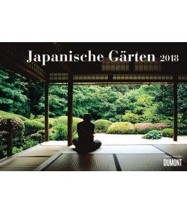 Nástěnný kalendář Japonské zahrady / Japanische Gärten 2018