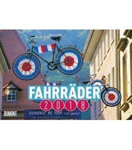 Nástěnný kalendář Jízdní kola / Fahrräder 2018