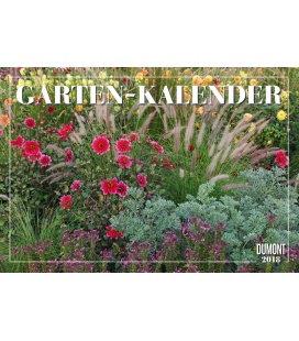 Nástěnný kalendář Zahrady / Gartenkalender 2018
