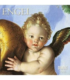 Nástěnný kalendář Andělé / Engel 2018