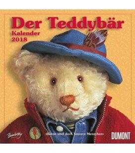 Nástěnný kalendář Medvídek Teddy / Der Teddybär Kalender 2018