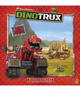 Nástěnný kalendář Dinotrux 2018