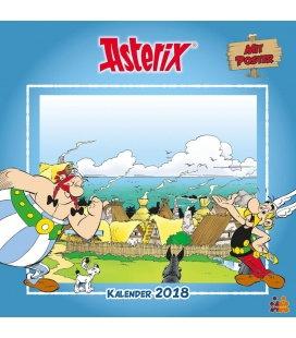 Nástěnný kalendář Asterix 2018