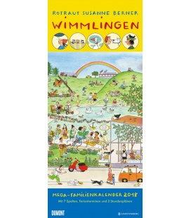 Nástěnný kalendář Rodinný plánovač Wimmlingen / Megaplaner Wimmlingen 2018