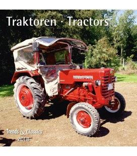Nástěnný kalendář Traktory / Traktoren T&C 2018