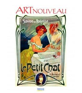 Nástěnný kalendář Plakáty / Art-Nouveau-Plakate 2018
