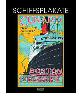Nástěnný kalendář Plakáty lodí / Schiffsplakate 2018