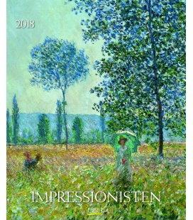 Wall calendar Impressionisten 2018