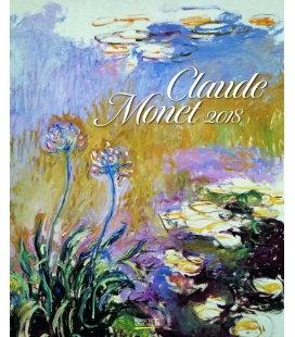 Wall calendar Claude Monet 2018