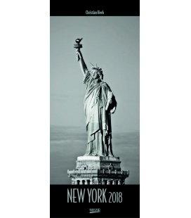 Nástěnný kalendář New York - Christian Heeb 2018