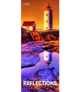 Nástěnný kalendář Odrazy / Reflections 2018