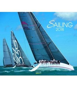Nástěnný kalendář Plachetnice / Sailing 2018