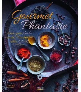 Nástěnný kalendář Gurmánské fantazie / Gourmet Phantasie 2018