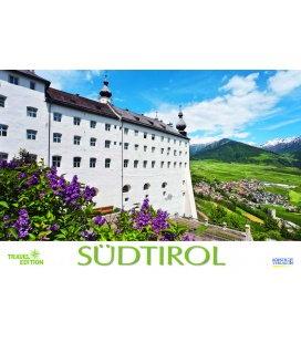 Nástěnný kalendář Jižní Tyrolsko / Südtirol 2018