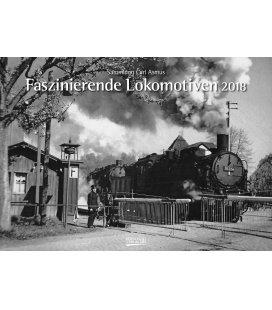 Nástěnný kalendář Fascinující lokomotivy / Faszinierende Lokomotiven 2018