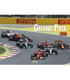 Wandkalender Grand Prix 2018