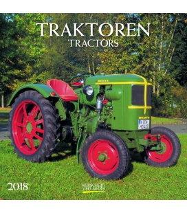 Nástěnný kalendář Traktory / Traktoren (BK) 2018