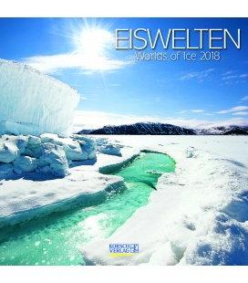 Wandkalender Eiswelten (BK) 2018