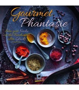 Nástěnný kalendář Gurmánské fantazie / Gourmet Phantasie (BK) 2018